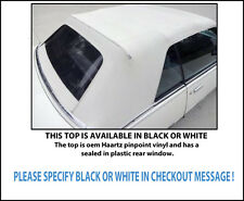 CHEVROLET CAVALIER & PONTIAC SUNBIRD CONVERTIBLE TOP-DO IT YOURSELF PKG 1983-87