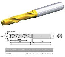 """KENNAMETAL B210A13495HP KC7515 17/32"""" DIA 13.495 MM (0.5312'') SC DRILL OAL 107"""