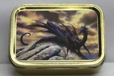 Gothic Dragon Cigarette Tobacco Storage 2oz Tin