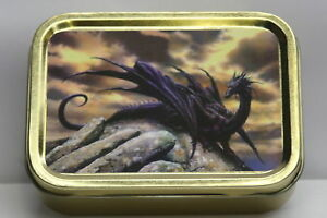 Gothic Dragon Cigarette Tobacco Storage 2oz Tin