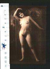 CARTOLINA TEMATICA - NUDO DI DONNA IN POSA ARTISTICA - N.50105