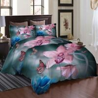 Petals Relaxed 3D Printing Duvet Quilt Doona Covers Pillow Case Bedding Sets