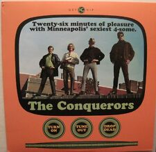 THE CONQUERORS -Turn On Tune Out Drop Dead-LP-USA-Colored Wax MOD Power Pop L@@K
