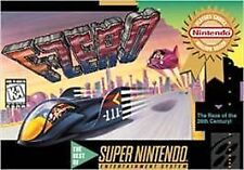 ***F-ZERO SNES SUPER NINTENDO GAME COSMETIC WEAR~~~