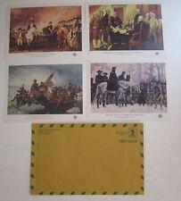 USA Stamp Scott #1686-1689 American Bicentennial, 4 S/Ss MNH