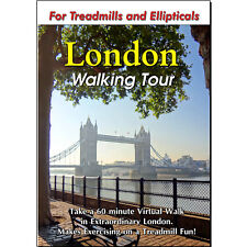 London Walking Tour Treadmill Scenery Dvd - Video Exercise Fitness Weight Loss