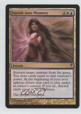 2006 Magic: The Gathering - Coldsnap #133 Vanish into Memory Magic Card 0a1