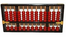 Lotus Flower Wooden Abacus Peoples Republic of China Chinese