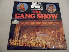 """RALPH READER INVITES YOU TO . THE GANG SHOW . 12"""" 33rpm VINYL LP RECORD .1968 ."""