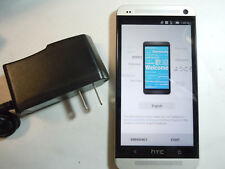CHECK IMEI FIRST (READ) MINT PHONE 9/10 HTC One M7 32GB Silver TING (non-Sprint)