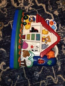 Chicco Talking Farm and Numbers Bilingual English Spanish Learning Toy