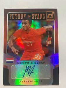 2015 Donruss Memphis Depay Future Stars Auto RC #FS-MD