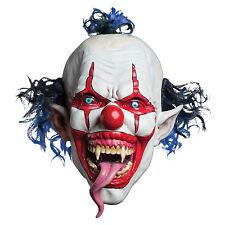 Morbid Enterprises Snake Tongue Evil Clown Mask | 37114
