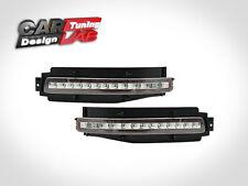 (2) Rear bumper LED Backup light fog lamps Brake Turn Clear Lens For Nissan 350z