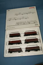 "Marklin 46021 DB Car Set ""Open Goods Cars""  Patinated"