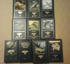 North American Fishing Club Books & Vhs Video Tapes