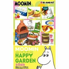 New Re-ment MOOMIN HAPPY GARDEN All 8 types Full Set From Japan with Tracking