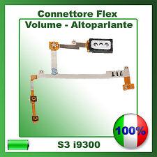 FLAT FLEX SPEAKER ALTOPARLANTE TASTI VOLUME LATERALI PER SAMSUNG GALAXY S3 i9300