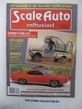 Scale Auto Enthusiast Magazine   Dec.1986   Terry Jessee's Cowboy Cadillac