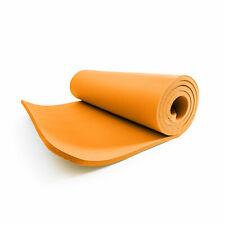 Fitnessmatte 1cm orange Sportmatte Gymnastikmatte Yoga Matte Pilates Unterlage