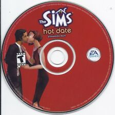 The Sims: Hot Date Expansion Pack (PC CD with serial number key)