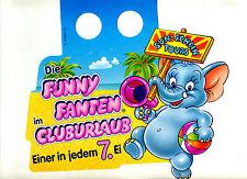 Paletten-Anhänger--Ü-Ei--Die Funny Fanten-im Cluburlaub