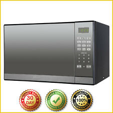 MICROWAVE OVEN Oster 1.3 Cu Ft Countertop Stainless Steel Mirror Digital W Grill