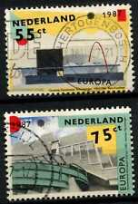 Netherlands 1987 SG#1506-7 Europa, Architecture Used Set #D77004