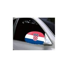 CROATIA CAR MIRROR FLAG COVERS 2018 WORLD CUP SHIPS FROM CANADA