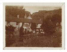 CHEDDAR Somerset, The Lake - Antique Photograph c1905
