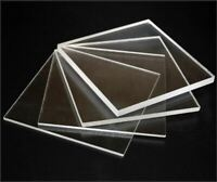 Clear Acrylic Perspex Sheet Custom Cut To Your Specific size.Free Polished Edges