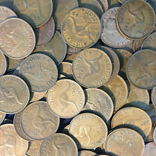Australian Bulk Penny pre decimal coins x 22 all different years. 1938 to 1964