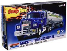 "Snap Together Assembly Plastic Mack ""R"" Conventional & Fruehauf Tanker Model Kit"
