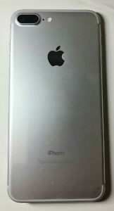 Apple iPhone 7 Plus 256GB Silver Cracked Screen PLEASE READ