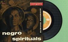 ELWOOD PETERSON / Negro Spirituals / VERGARA 55.1.004 Pressing Spain 1963 EP VG+