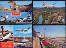 Konvolut Ansichtskarten Flugzeug und Flughafen 6