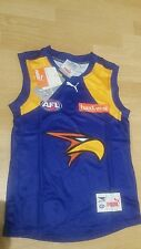 AFL West Coast Eagles Size 10 Kids Boys Youths Footy Football JumperJersey