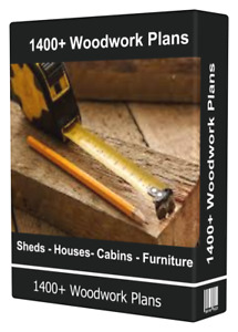 3800+ Woodwork Plans Sheds Benches Houses Cabins Designs Instant Download
