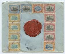 Guatemala Deutsche Gesandschafts R Brief nach Berlin 1915