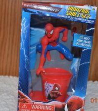 Kids toothbrush, holder, rinse cup Doc McStuffins Turtles Spiderman Dora Jake