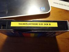 Trailways Greyhound Slideshow 1996 Dvr Tape Bob Redden? Dt