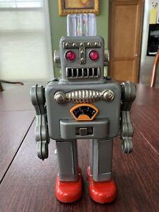 smoking tin robot