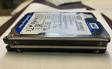 """Lot of 2 Assorted Brands 2.5"""" 160GB SATA Laptop HDD Hard Drive - Tested & Wiped"""