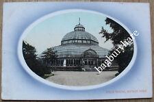 Postcard: Palm House, Sefton Park. Valentine. Not Posted.