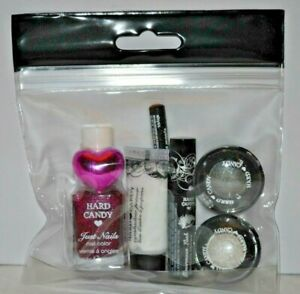 HARD CANDY Makeup Nail Colour & Ring. Gift Set. Fabuluxe Red