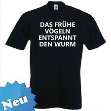 "FUN T-Shirt ""DAS FRÜHE VÖGELN"" Dirndl Wasen Oktoberfest Frühlingsfest"