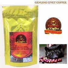 Genuine Civet Robusta Coffee, Authentic Kopi Luwak Natural Process 100gram