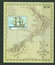 New Zealand 1990 SG 1542 on London Stamp World sheet  Ships MH