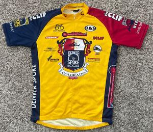 Louis Garneau Denver Spoke Colorado Medium Cycling Jersey NWOT