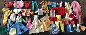 Vintage Lot of 60s/70s/80s Barbie Clone Clothes, Many Tagged Genuine & Made HK